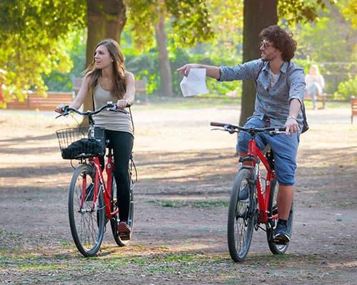 biking roma