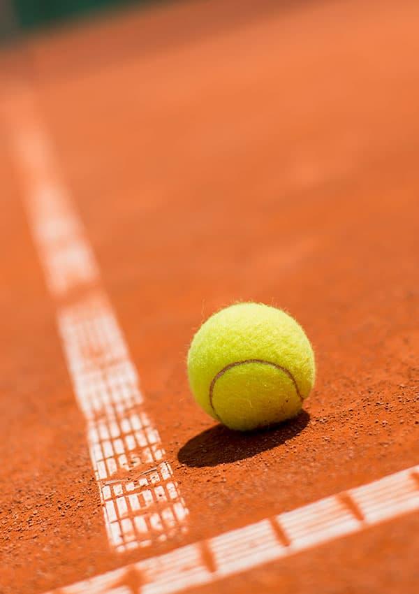 tennis roma pallina