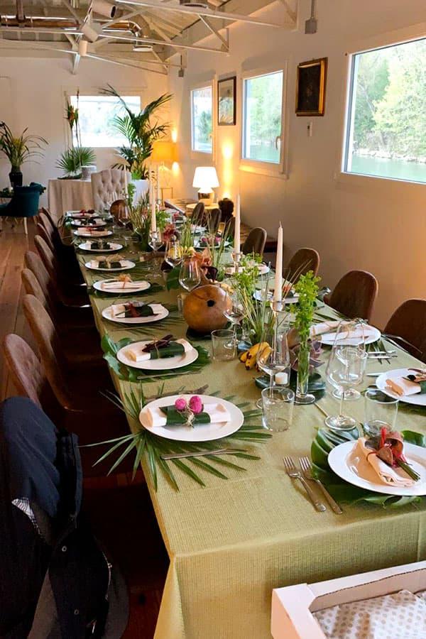 ondina ristorante tavola apparecchiata