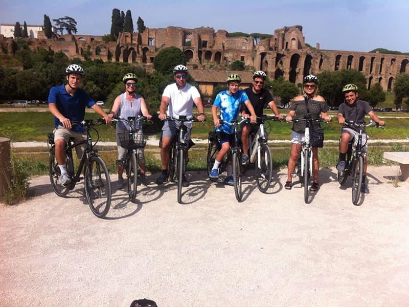 Biking Roma nord