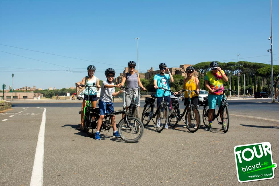 biking bycicl-e roma nord