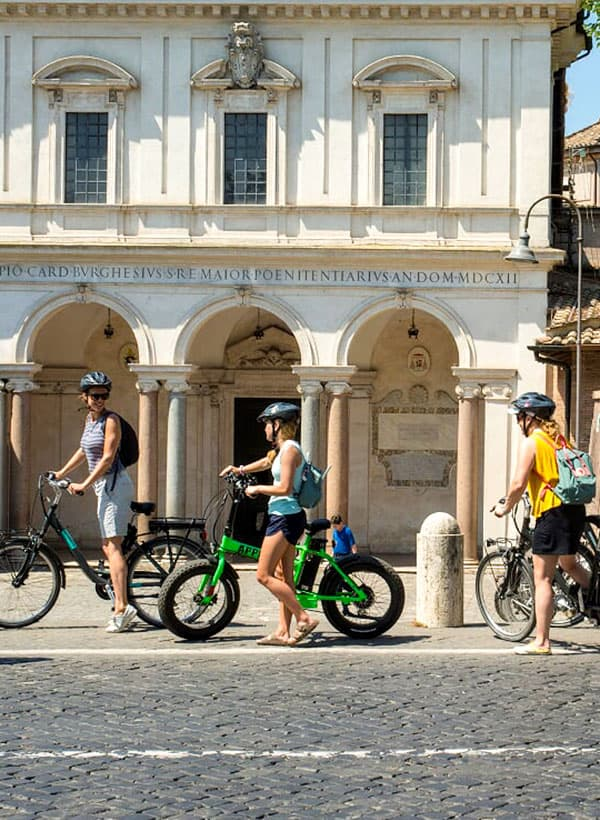 Bike tour roma prati