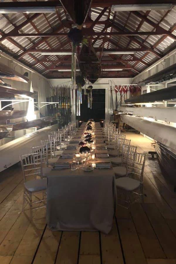 ristorante ondina tavola con luci