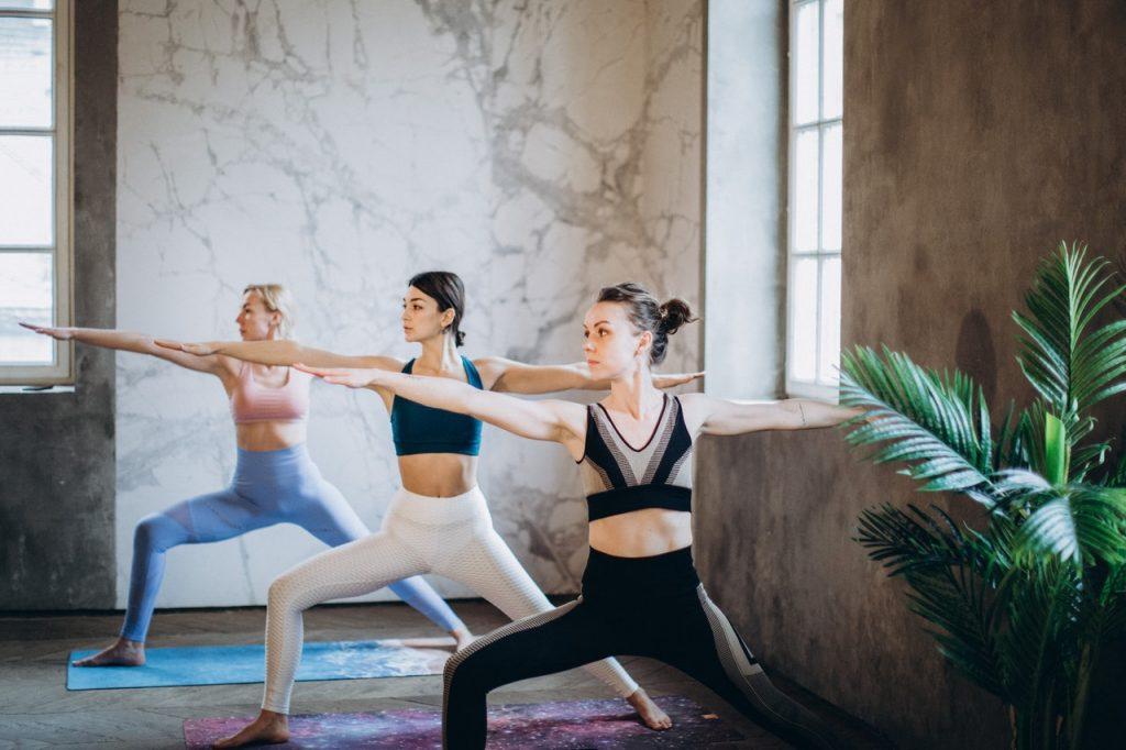 Asana Guerriero Yoga